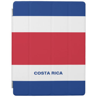 Costa Rica-Flagge iPad intelligente Abdeckung iPad Hülle