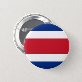 Costa Rica-Flaggen-Knopf Runder Button 5,1 Cm