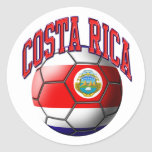Costa Rica-Fußball-Aufkleber