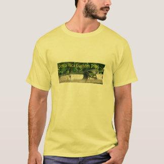Costa Rica-Gewohnheit löst T-Shirt aus