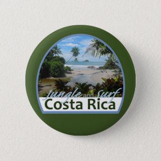 Costa Rica-Knopf Runder Button 5,7 Cm