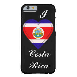 Costa Rica-Kosten Rican Flagge Barely There iPhone 6 Hülle