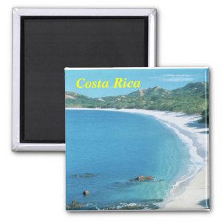 Costa Rica-Magnet Quadratischer Magnet