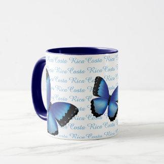 Costa Rica Morpho Schmetterlings-Tasse Tasse