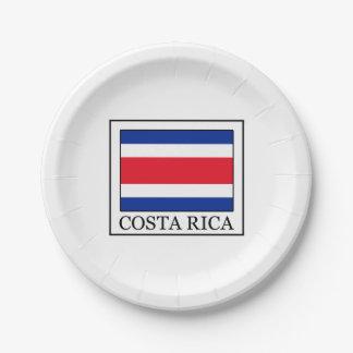 Costa Rica Pappteller