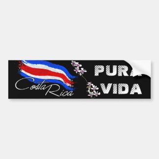 Costa Rica Pura Vida! Autoaufkleber