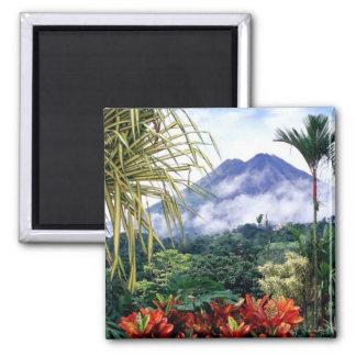 Costa Rica Quadratischer Magnet