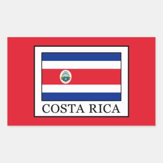 Costa Rica Rechteckiger Aufkleber
