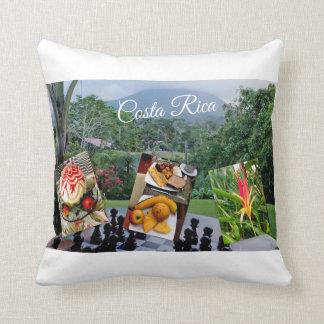 Costa Rica-Reise-Sammlung Kissen