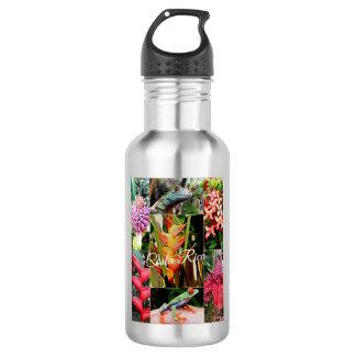 Costa Rica-Reise-Sammlung Trinkflasche