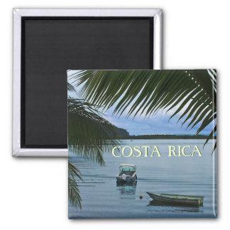 Costa Rica Reise Souvenire Foto-Magnet Quadratischer Magnet