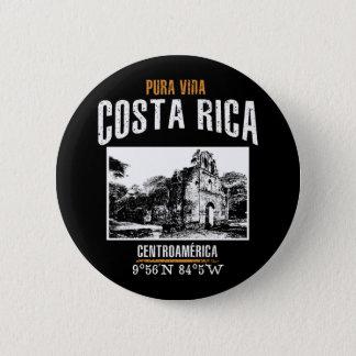Costa Rica Runder Button 5,1 Cm