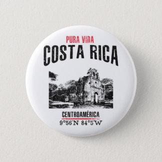 Costa Rica Runder Button 5,7 Cm