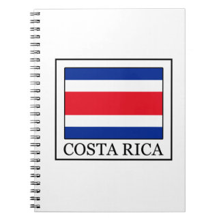 Costa Rica Spiral Notizblock