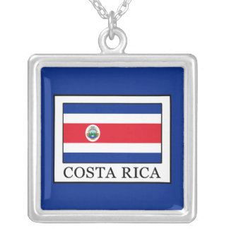 Costa Rica Versilberte Kette