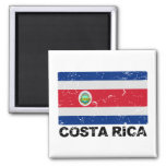 Costa Rica Vintage Flagge Magnets