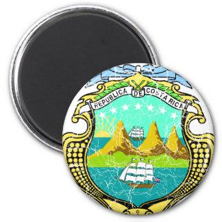 Costa Rica-Wappen Magnete
