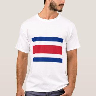 Costa Rica zivile Flagge T-Shirt