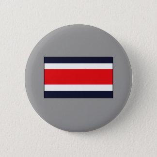 Costa Rican Flaggen-T - Shirts und Geschenke Runder Button 5,1 Cm