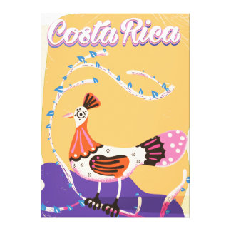 Costa Rican Vintager Reisedruck Leinwanddruck