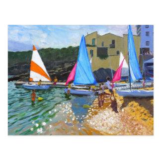 Costa Segelnschulcalellas de Palafrugall Postkarte