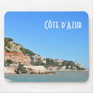 Côte d'Azur in Nizza, Frankreich Mousepad