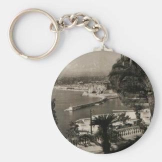 "COTE D'AZUR - Nizza ""Promenaden-DES Anglais"" 1950 Schlüsselanhänger"