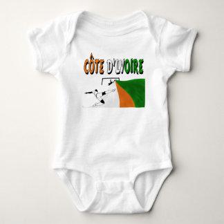 Côte d'Lvoire Baby Strampler