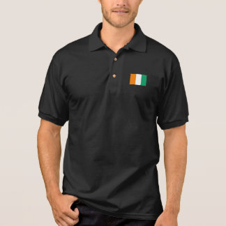 Coted Ivoire Flagge Polo Shirt