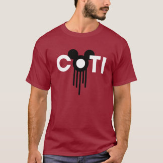 COTI Logo-T-Stück (Schwarzes) T-Shirt