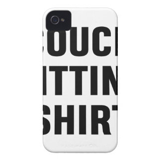 Couch-sitzendes Shirt iPhone 4 Cover