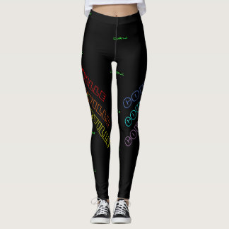 COUGARVILLE GAMASCHEN LEGGINGS