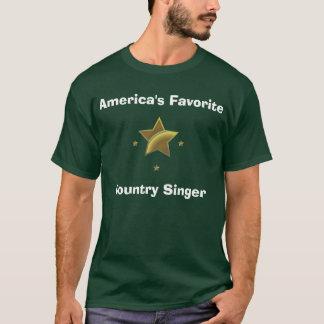 Country-Sänger: Amerikas Liebling T-Shirt