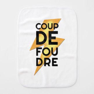 Coup de Foudre - Blitzschlag-Franzosen Spucktuch