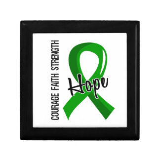 Courage Faith Hope 5 Mental Health Trinket Boxes