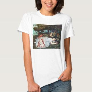 Courbet Damen auf den Banken der Seines Hemden