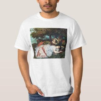 Courbet junge Damen auf den Banken der Seines Hemden
