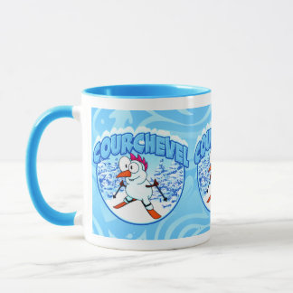 Courchevel Snowman-Tasse Tasse