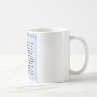 Cousin-Gedicht-40. Geburtstag Kaffeetasse