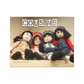 COUSIN-PUPPE 01 - Format 11 x 14 Leinwanddruck