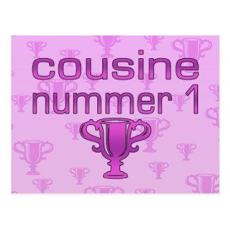 Cousine Nummer 1 Postkarten