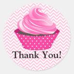 Couture-Kuchen-Bäckerei danken Ihnen Runde Sticker