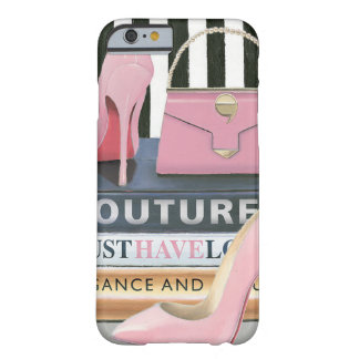 Couture-Streifen wilden Apples   - Schuhe u. Barely There iPhone 6 Hülle