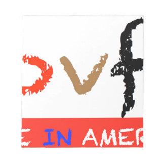 #covfefe hergestellt in Amerika Notizblock