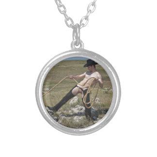 Cowboy 16023-RA Halskette Mit Rundem Anhänger