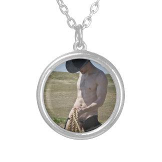 Cowboy 16101-RA Halskette Mit Rundem Anhänger