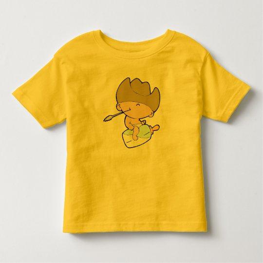 Cowboy-Baby Kleinkinder T-shirt