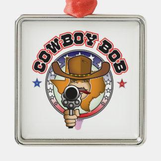 COWBOY-BOB SILBERNES ORNAMENT