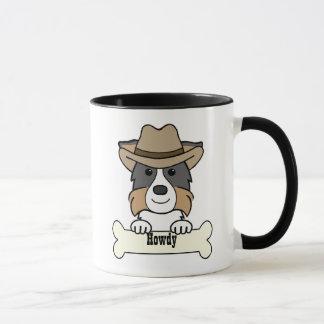 Cowboy-Border-Collie Tasse