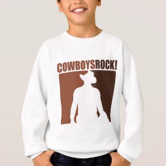 Cowboy-Felsen! Sweatshirt